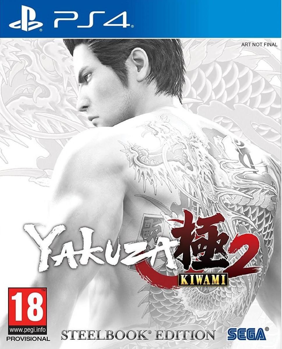 Yakuza: Kiwami 2 SteelBook Edition (PS4)
