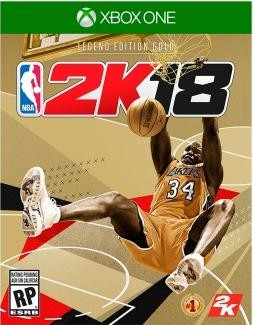 NBA 2K18 Legend Edition Gold (Xbox One)
