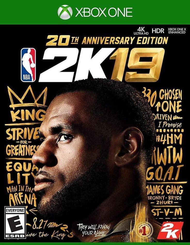 NBA 2K19 20th Anniversary Edition (Xbox One)