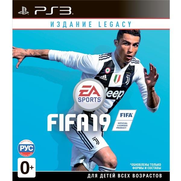 Fifa 19. Legacy Edition Русская Версия (PS3)
