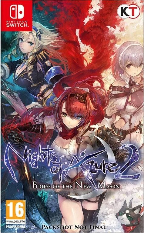Nights of Azure 2: Bride of the New Moon (Switch)