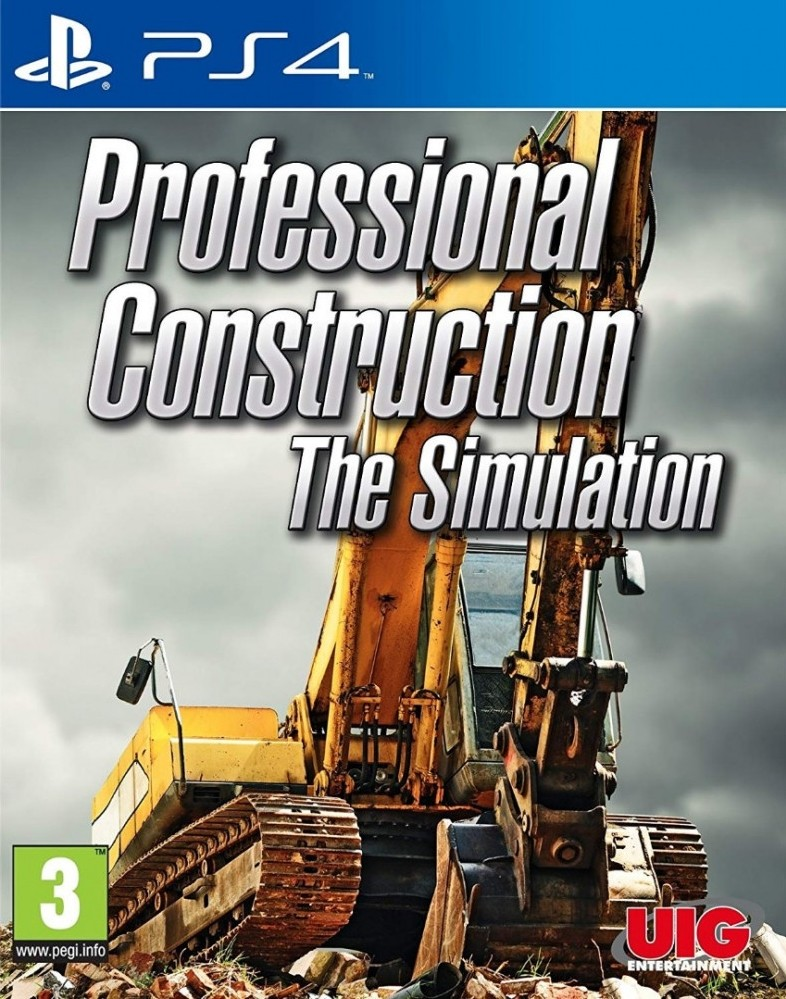 Professional Construction The Simulation (PS4)