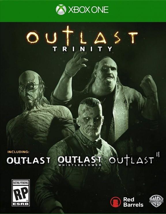 Outlast Trinity Русская Версия (Xbox One)