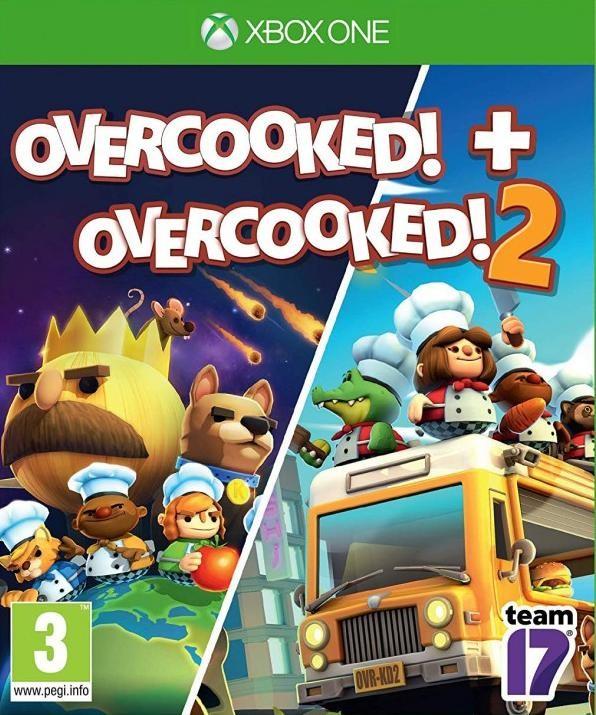 Overcooked! + Overcooked! 2 (Адская кухня 1+2) (Xbox One)