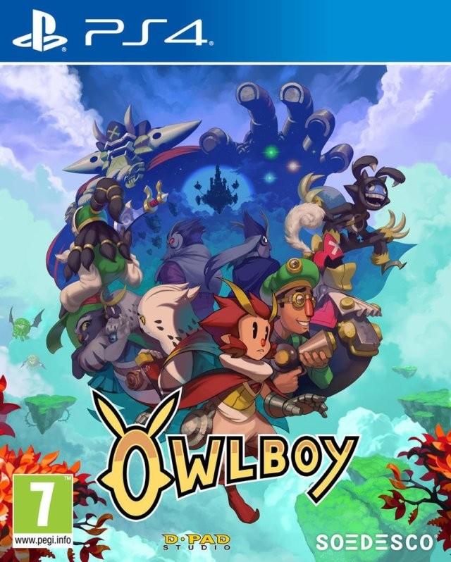 Owlboy Русская Версия (PS4)