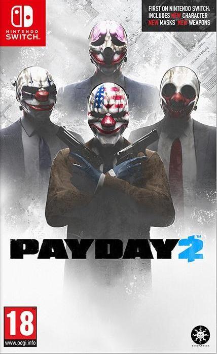 Payday 2 Русская Версия (Switch)