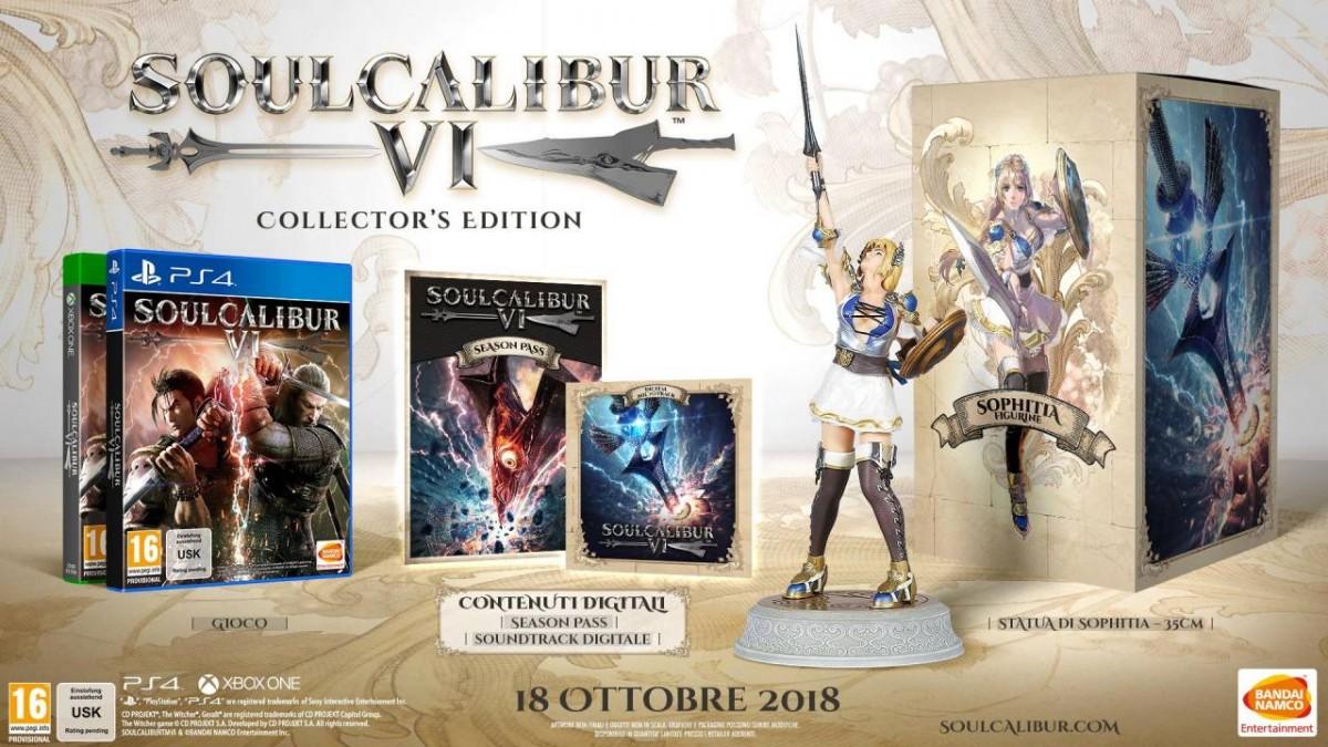 SoulCalibur 6 (VI) Collector's Edition Русская Версия (PS4)