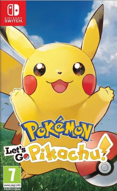 Pokemon: Let's Go, Pikachu! (Switch)