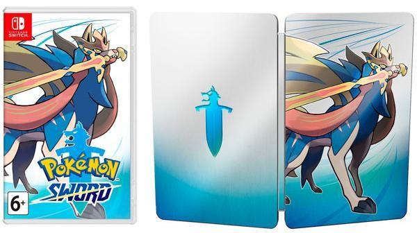 Pokemon: Sword Day One Edition (Издание первого дня) (Switch)