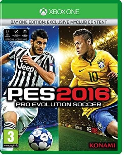 Pro Evolution Soccer 2016 (PES 16) Day One Edition (Издание первого дня) (Xbox One)
