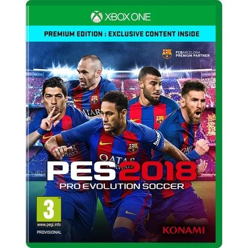Pro Evolution Soccer 2018 (PES 2018) Premium Edition Русская Версия (Xbox One)