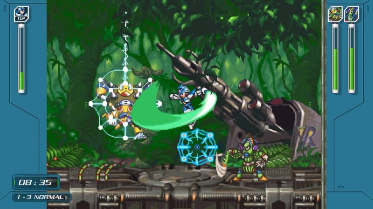 Mega Man: X Legacy Collection 1 + 2 (PS4)