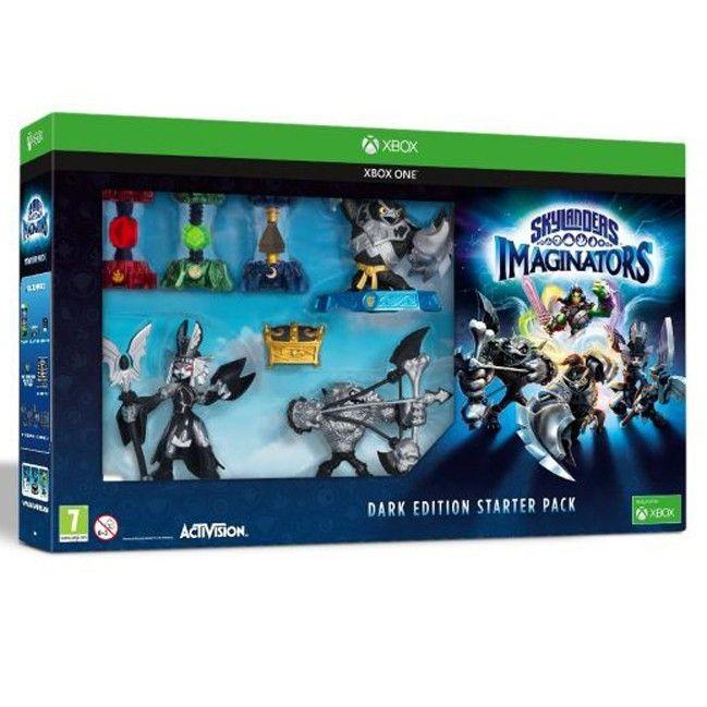 Skylanders Imaginators: Стартовый набор (Dark Edition): игра, игровой портал, фигурки (Xbox 360)