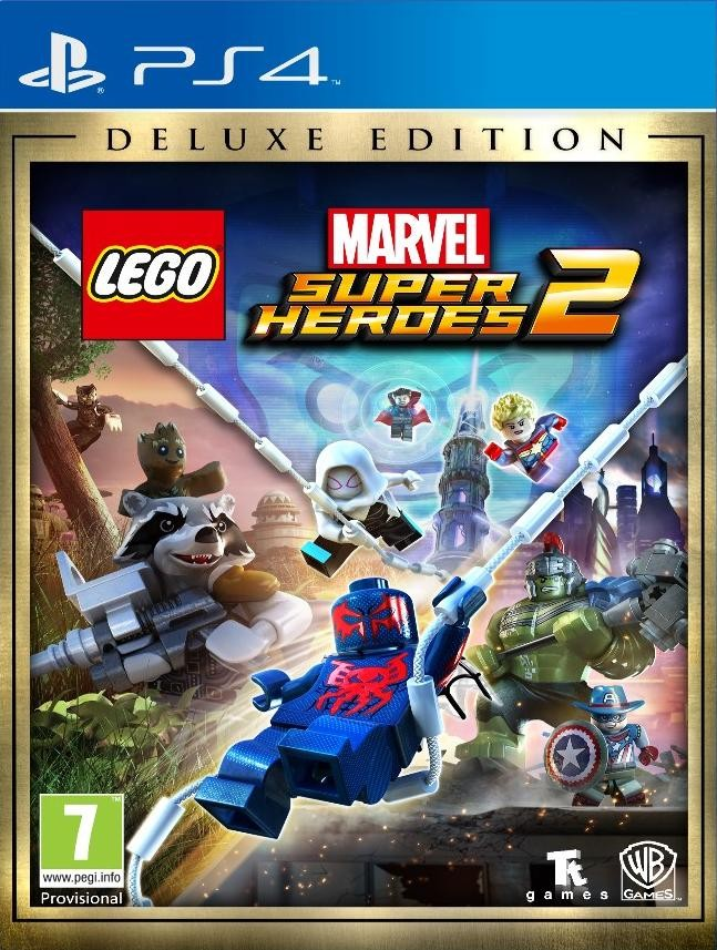 LEGO Marvel: Super Heroes 2 Deluxe Edition (PS4)