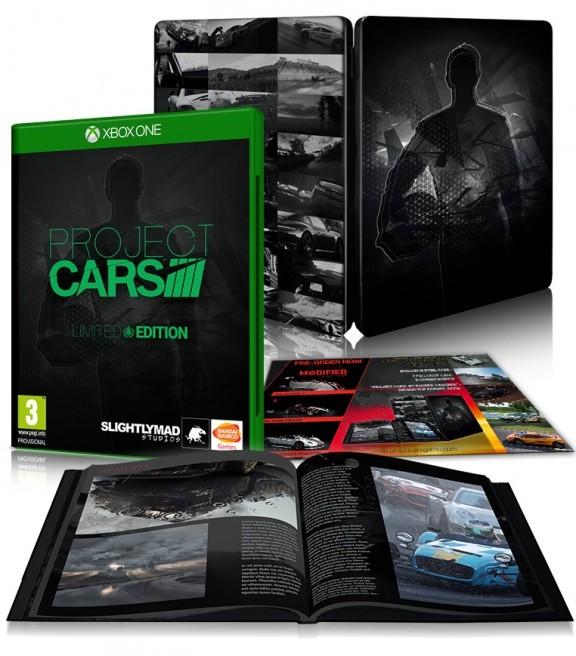 Project Cars. Ограниченное издание (Limited Edition) Русская Версия (Xbox One)