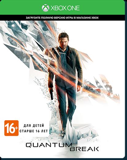 Quantum Break (Код на загрузку) Русская Версия (Xbox One)
