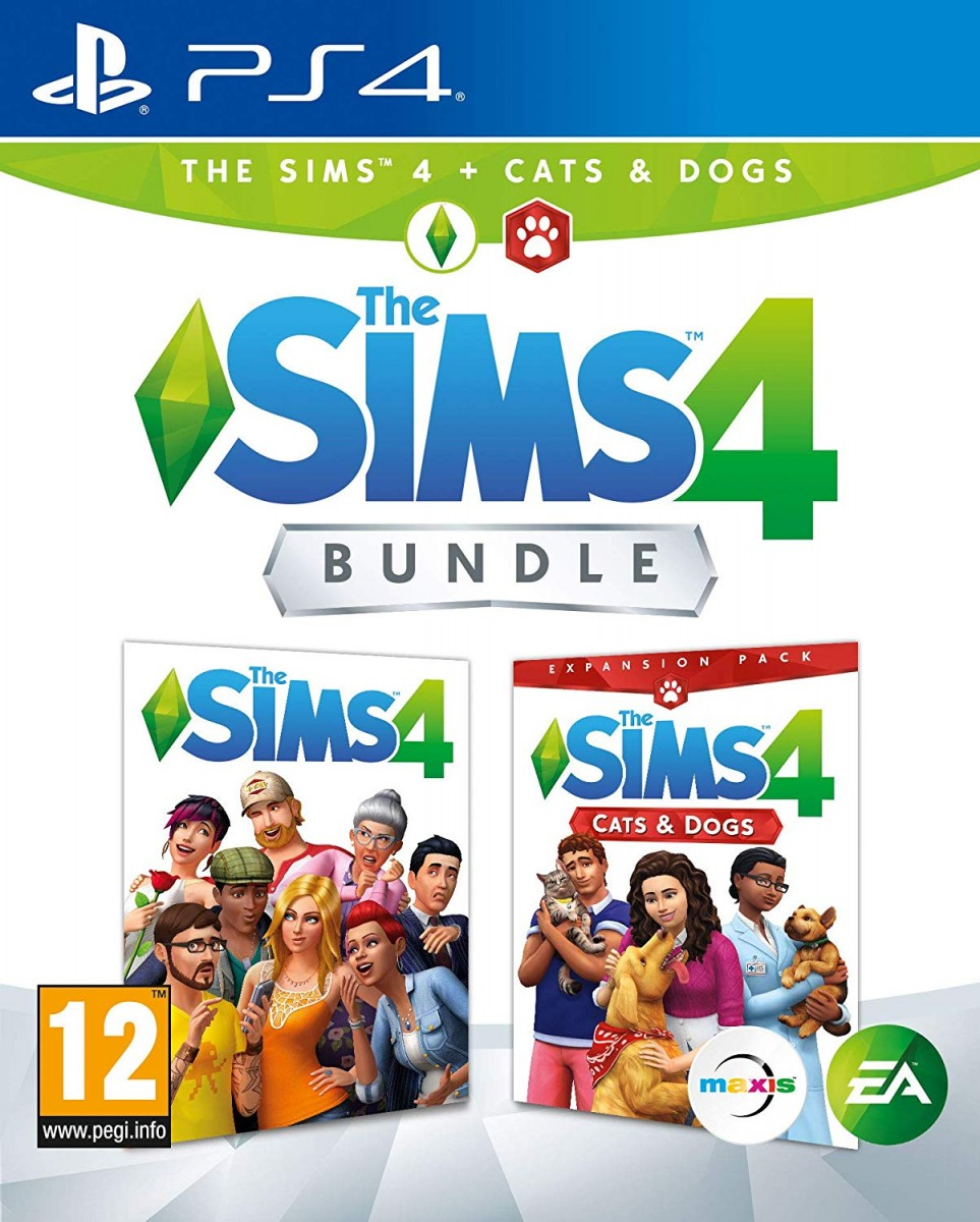 The Sims 4: Cats and Dogs Bundle (PS4)