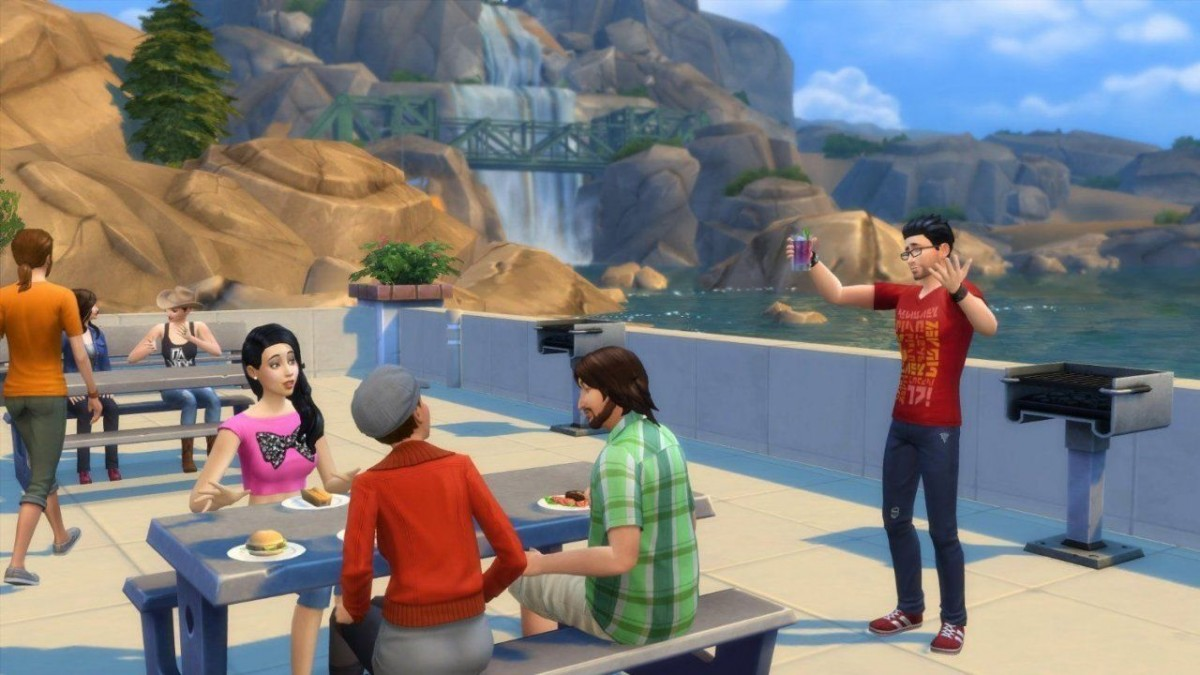 Sims 4 + Sims 4: Cats & Dogs Русская Версия (Xbox One)