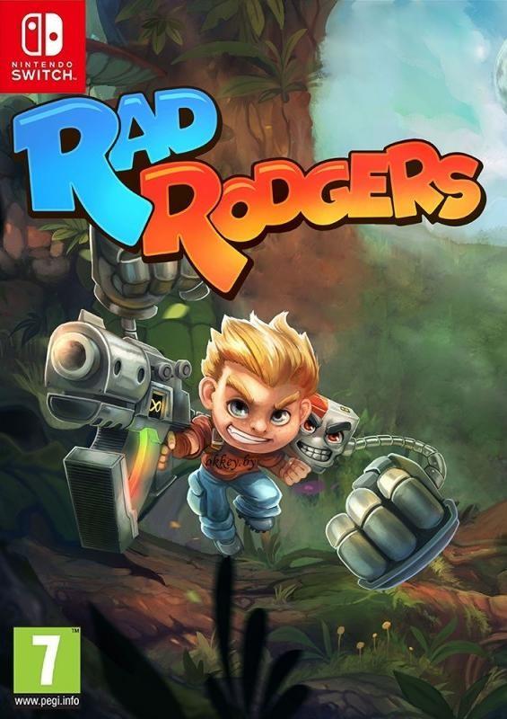 Rad Rodgers: World One Русская версия (Switch)