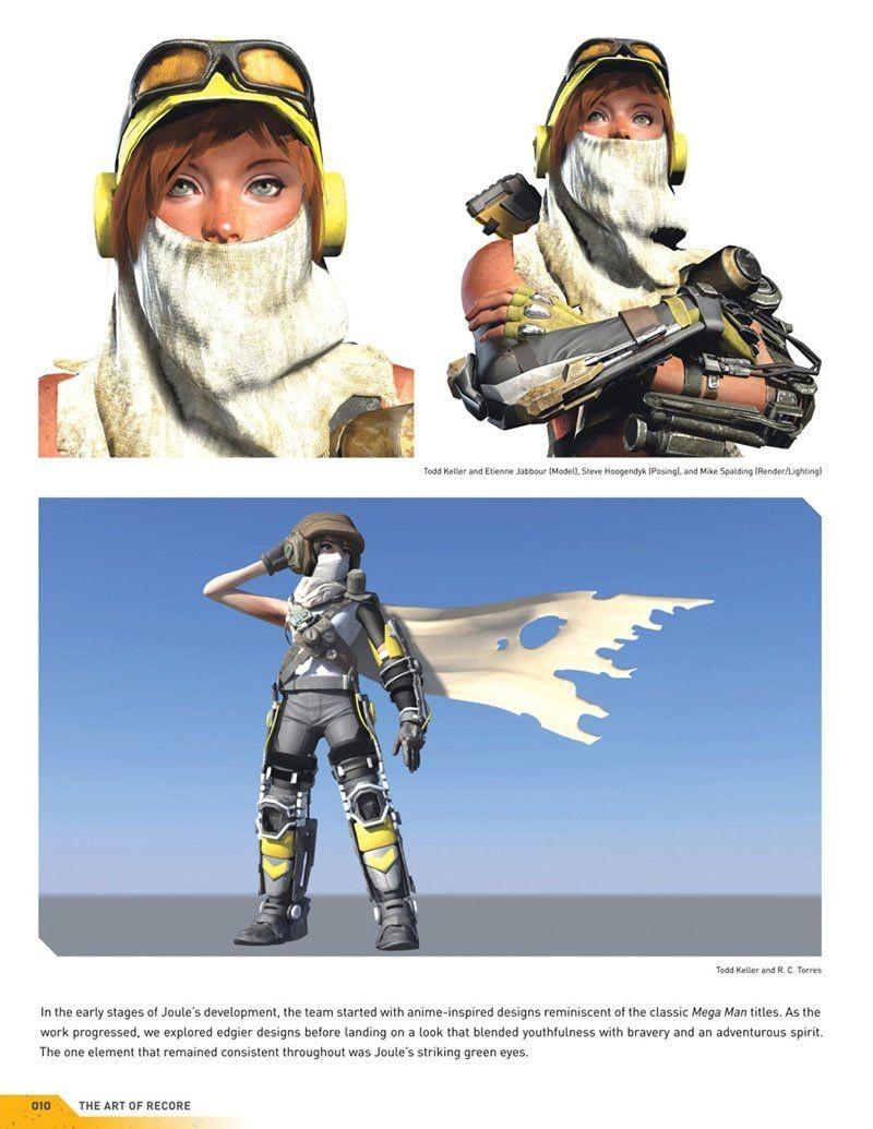 ReCore The Art of ReCore (Xbox One)