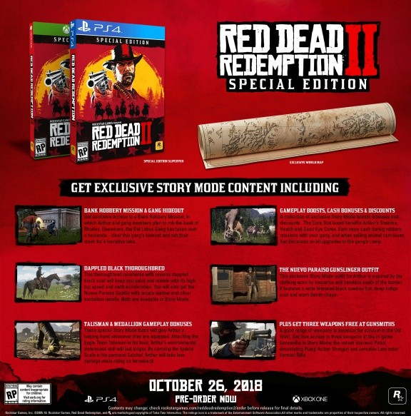 Red Dead Redemption 2 Special Edition Русская Версия (Xbox One)