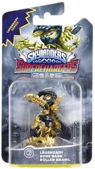 Skylanders SuperChargers: Интерактивная фигурка Legendary Bone Bash Roller Brawl (Скайлендер-суперзаряд)