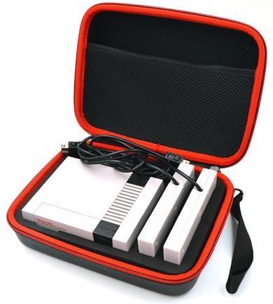Защитный чехол-сумка «Carring Bag» Nintendo Classic Mini: NES (Черный)