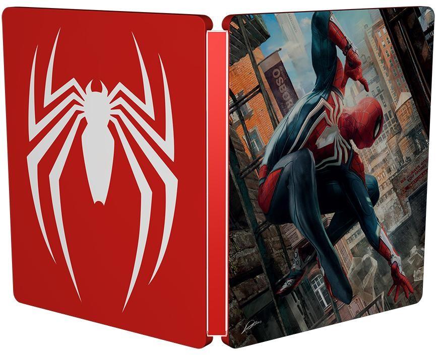 Spider-Man (Человек-Паук) Steelbook (Без игры) (PS4)