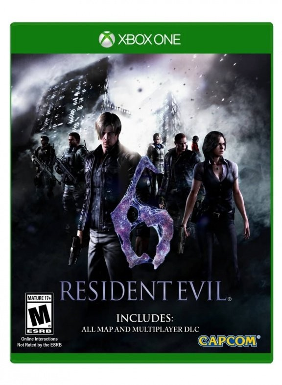 Resident Evil 6 Русская Версия (Xbox One)