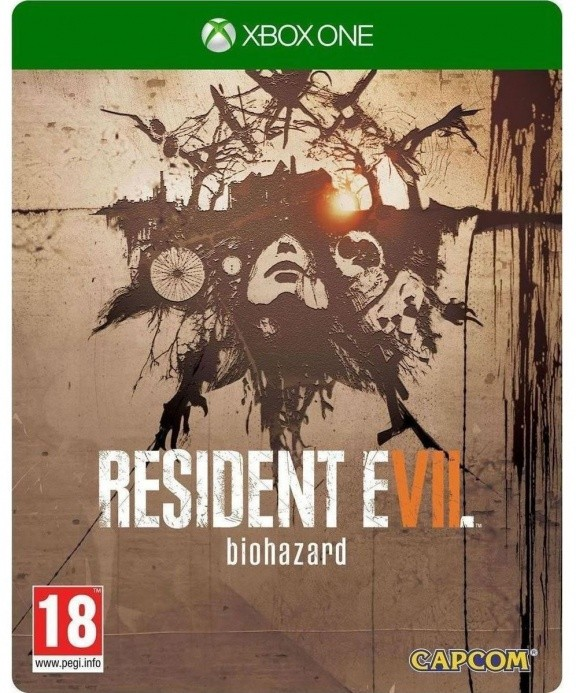 Resident Evil 7 Biohazard Steelbook Edition Русская Версия (Xbox One)