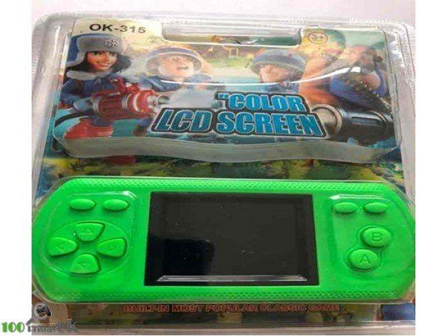 Портативная игровая приставка OK-315 (200 в 1) + 200 встроенных игр (Зеленая)