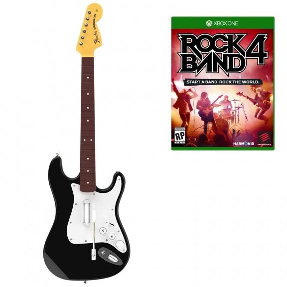 Rock Band 4 Stratocaster Bundle (+ Гитара) (Xbox One)
