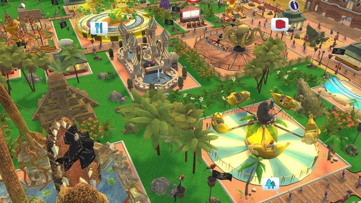 RollerСoaster Tycoon: Adventures (Switch)