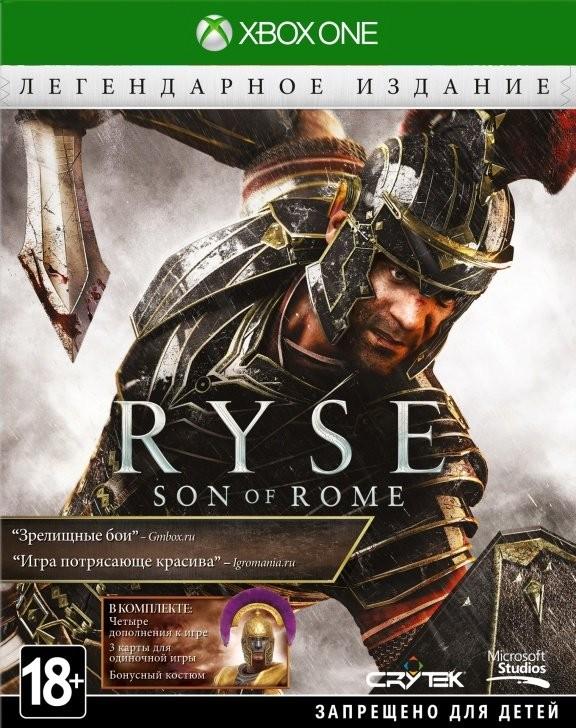 Ryse: Son of Rome Legendary Edition с поддержкой Kinect Русская Версия (Xbox One)