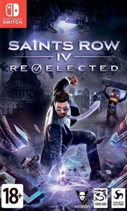 Saints Row 4 (IV): Re-Elected Русская Версия (Switch)