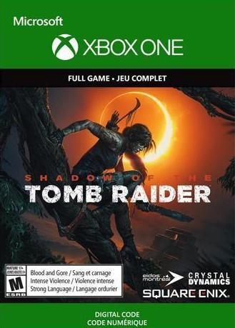 Shadow of the Tomb Raider (Код на загрузку) Русская Версия (Xbox One)