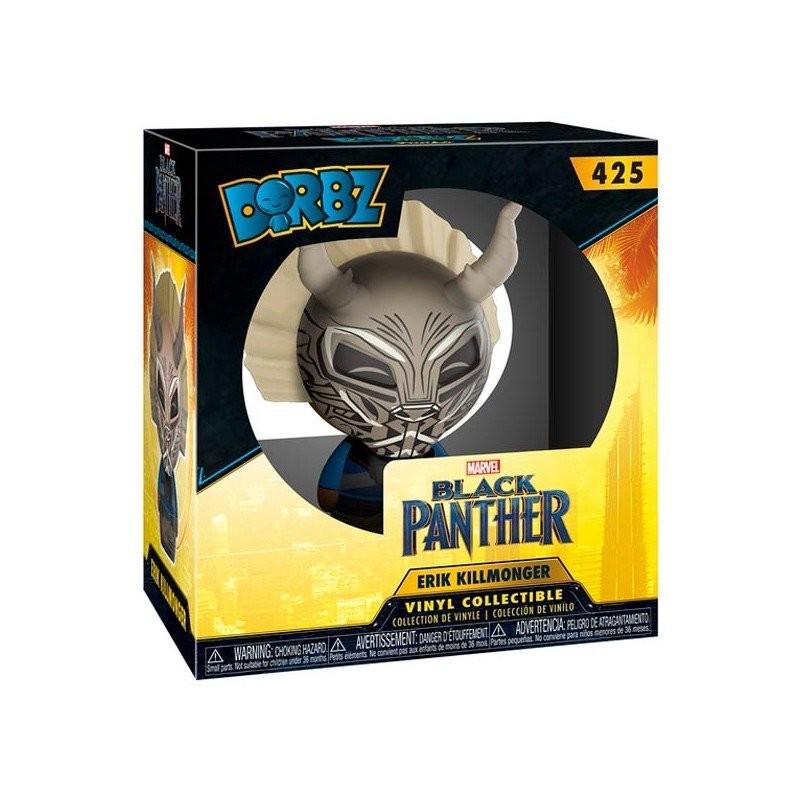 Фигурка Funko POP! Bobble Marvel: Чёрная Пантера: Эрик Киллмонгер (Black Panther: Killmonger) 8 см