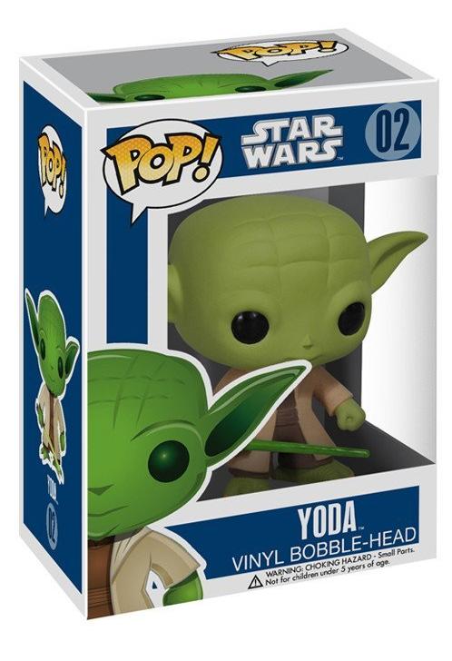 Фигурка Funko POP! Bobble: Звёздные Войны (Star Wars): Йода (Yoda) 9,5 см