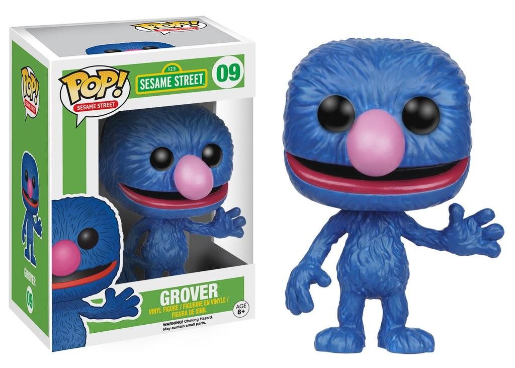 Фигурка Funko POP! Vinyl: Гровер (Grover) Улица Сезам (Sesame Street) (4914) 9,5 см