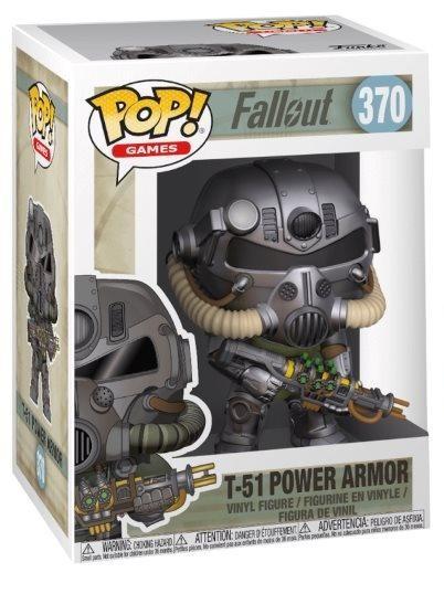 Фигурка Funko POP! Vinyl: Годсворт (T-51 Power Armor) Фалаут 4 (Fallout 4) (33973) 10 см