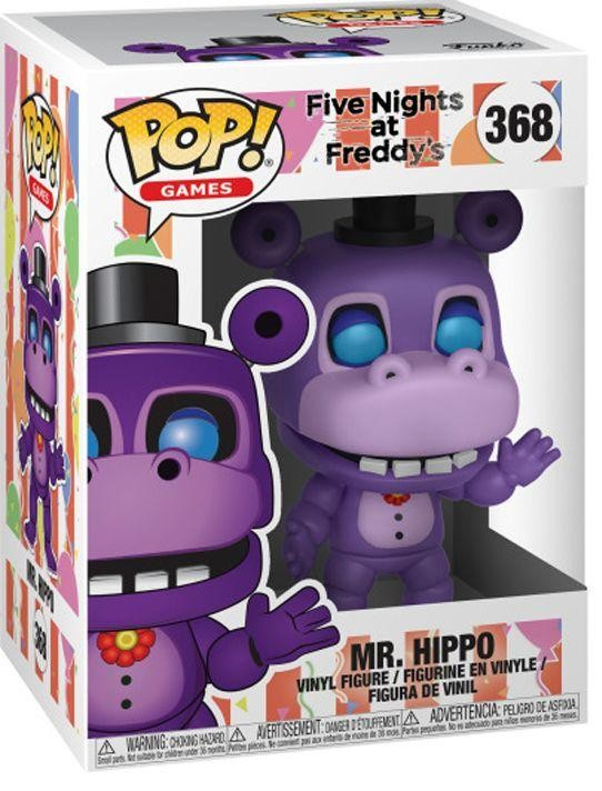 Фигурка Funko POP! Vinyl: Мистер Бегемот (Mr. Hippo) Симулятор Пиццерии