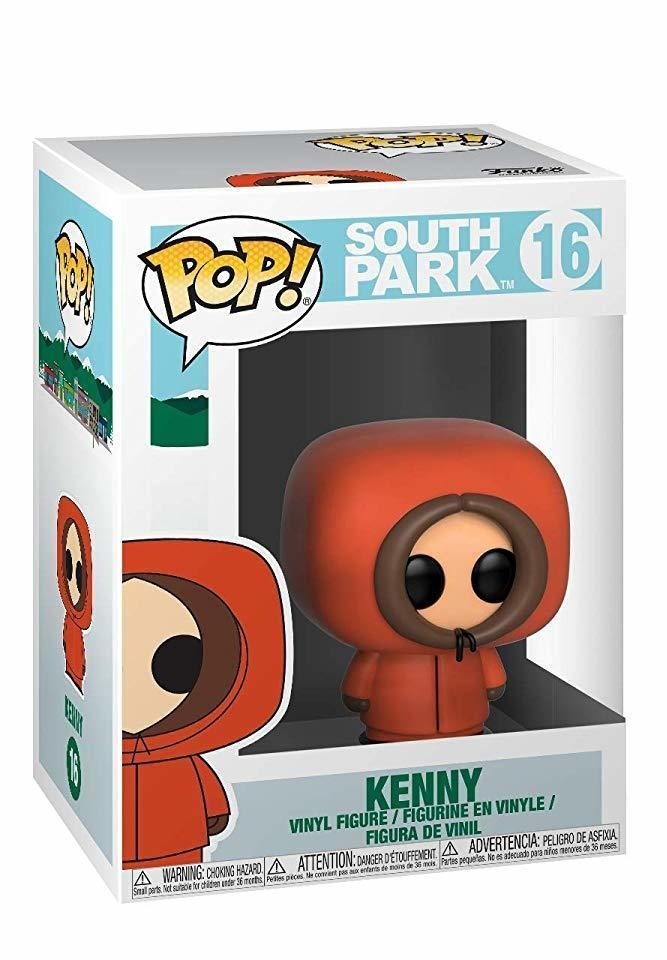 Фигурка Funko POP! Bobble Vinyl: Кенни (Kenny) Южный Парк (South Park) (32860) 9,5 см