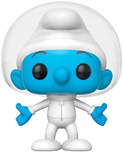 Фигурка Funko POP! Bobble Vinyl: Смурф Астро (Astro Smurf ) Смурфики (The Smurfs) (20123) 9,5 см