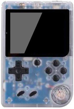 Портативная игровая приставка Retro FC plus (168 в 1) + 168 встроенных игр + 1 геймпад (Прозрачно-белая)