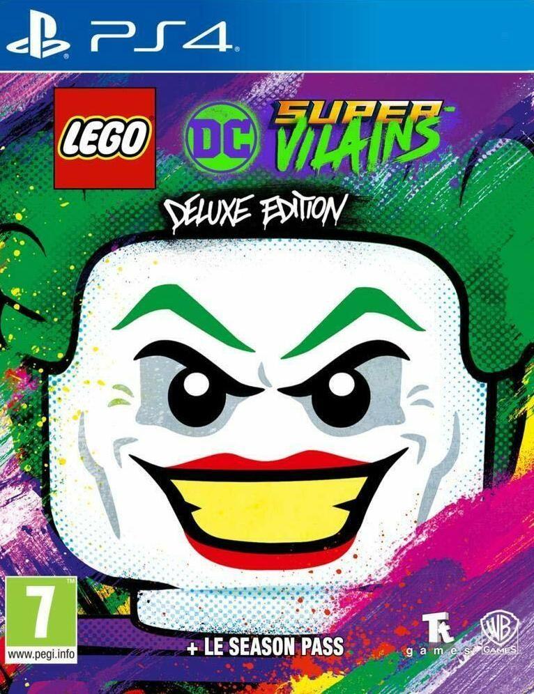 LEGO DC Super-Villains (ДС Суперзлодеи): Deluxe Edition (PS4)