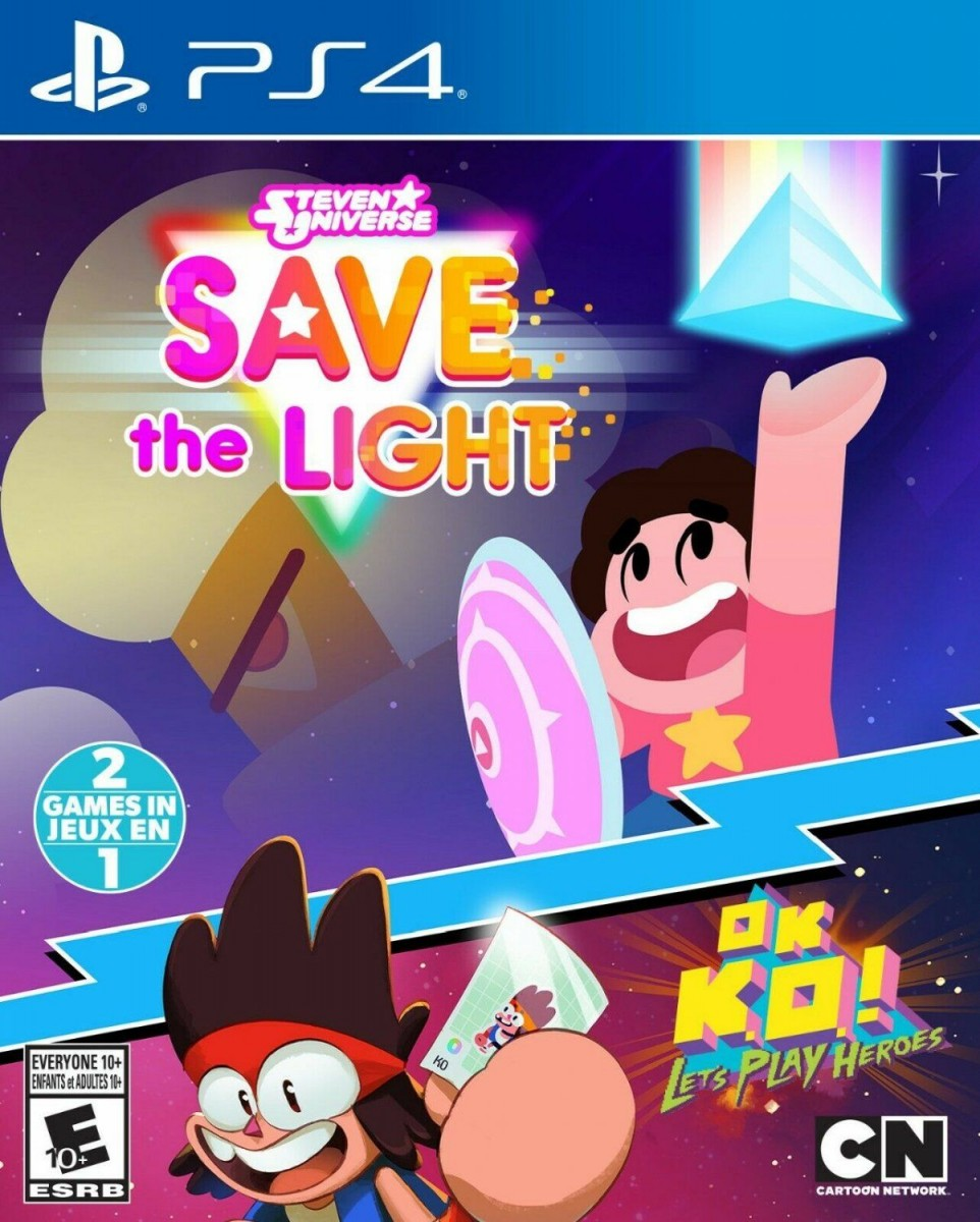 Steven Universe: Save the Light & OK K.O! Let's Play Heroes (PS4)