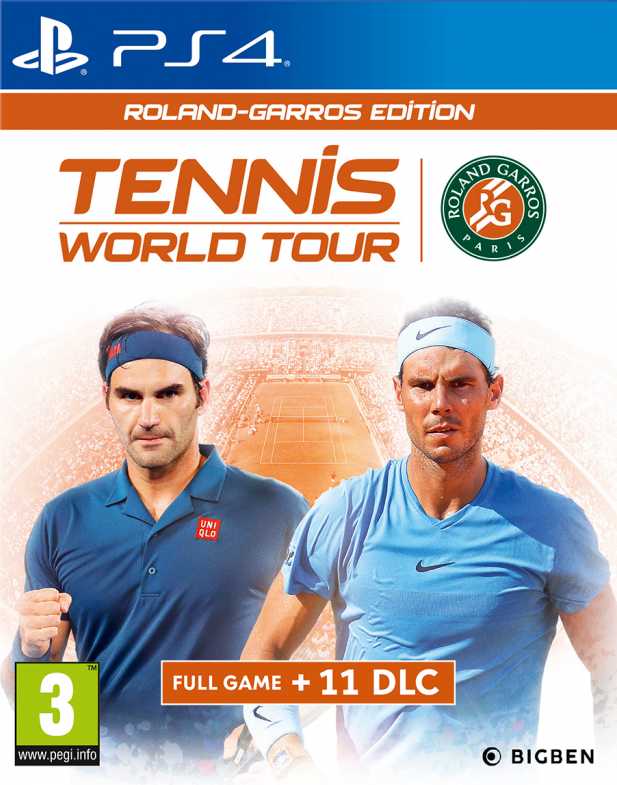 Tennis World Tour: Roland Garros Edition (PS4)