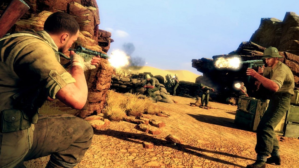 Sniper Elite 3 (III) Ultimate Edition Русская Версия (Switch)