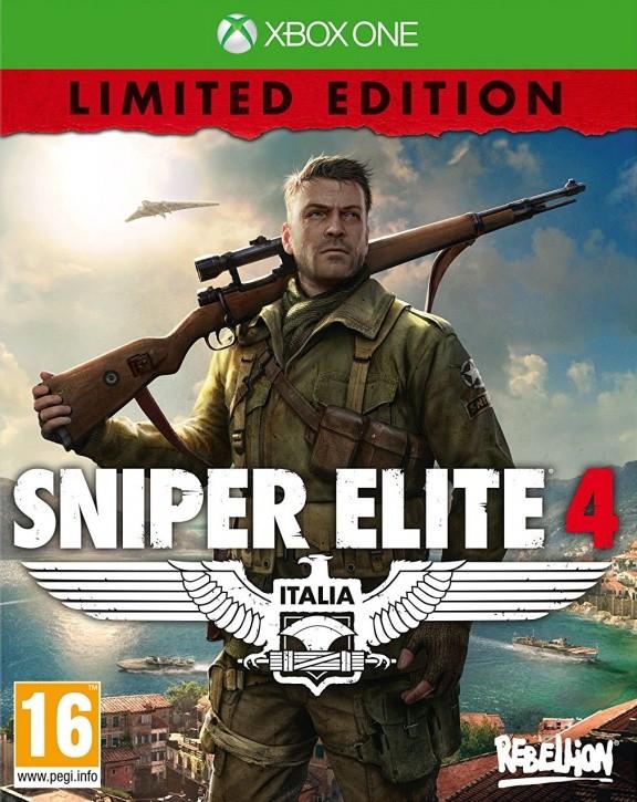 Sniper Elite 4 Limited Edition Русская Версия (Xbox One)
