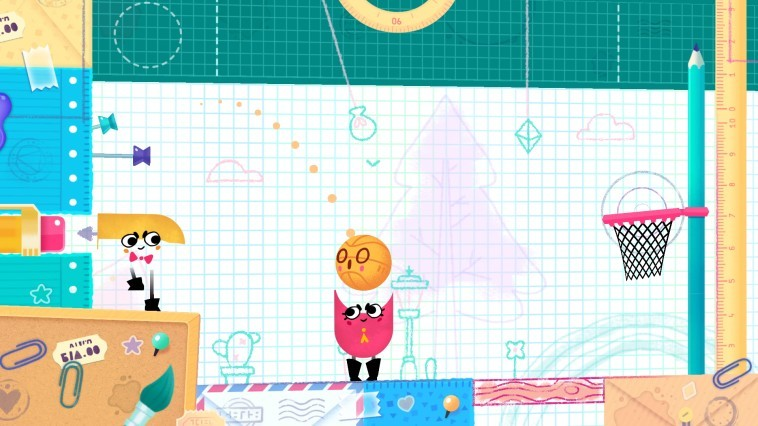 Snipperclips Plus: Cut it out, together! (Switch)